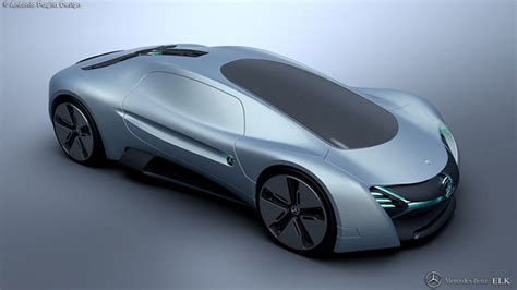 Elk Electric Concept Car  A Design Proposal For Mercedes