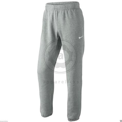 cuffed sweatpants for nike mens cuffed fleece joggers track sweat
