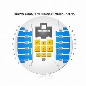 Brown County Veterans Memorial Arena Seating Chart