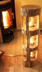 Windlicht Laterne Holz : deko holzbalken windlicht laterne stele skulptur holz sauna innendeko rarit t woodworking jigs ~ Whattoseeinmadrid.com Haus und Dekorationen