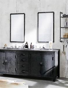 Miroir Meuble Salle De Bain : voici les plus jolis miroirs de salle de bains elle d coration ~ Teatrodelosmanantiales.com Idées de Décoration