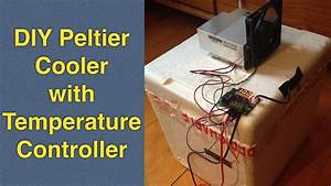 Homemade Peltier Cooler Mini Fridge W   Temperature Control