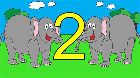 Counting Elephants 1 To 10  Learn To Count Elephant Numbers 1 To 10  Stories For Children