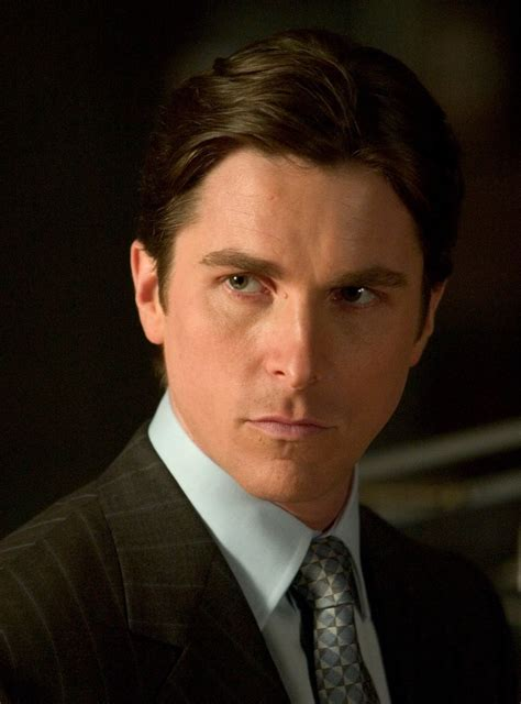 Movie Star Christian Bale Bruce Wayne Batman The