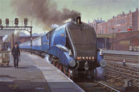 quality kitchen cabinets mallard lner no 4468 steaming into king s cross 4468