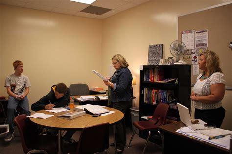 Study tables, weekly grade checks help students - AHSneedle