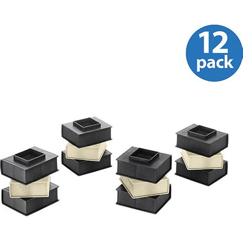 Bed Risers At Walmart by Whitmor Book Black Bed Risers Walmart