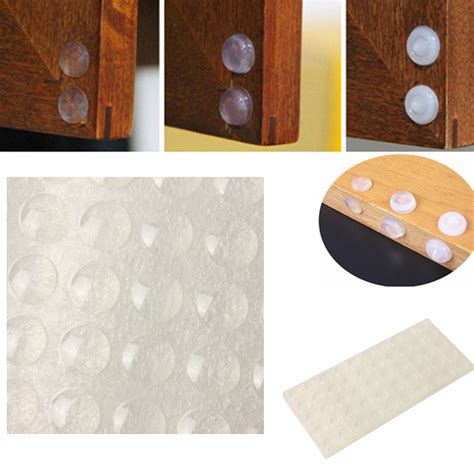 Kitchen Cabinet Door Bumper Pads by 50 100pc Self Adhesive Rubber Small Clear Bumpers