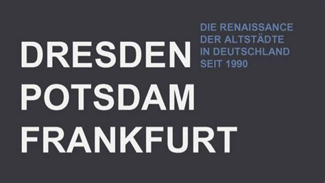 Symposium 3 Juni Die Renaissance Der Altstädte In