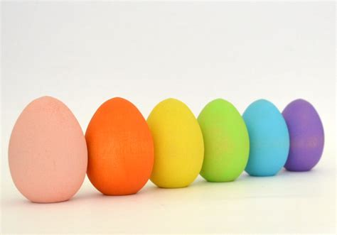 what are easter colors pastel easter eggs wood waldorf