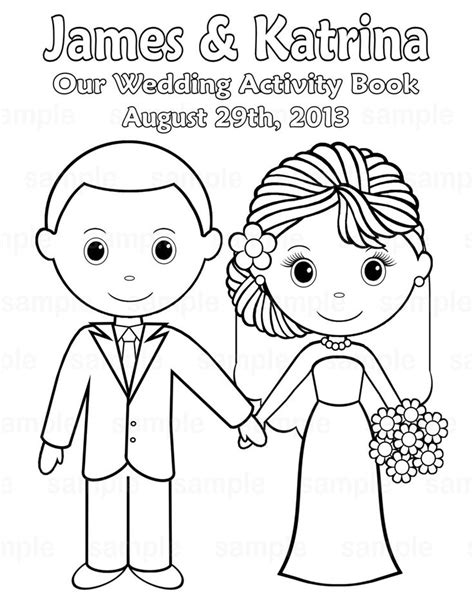 printable wedding coloring pages  printable