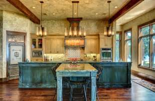 custom kitchen island designs ranch style by the lake rustic kitchen houston by