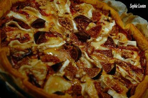 tarte aux figues chevre  noix  livre gourmand