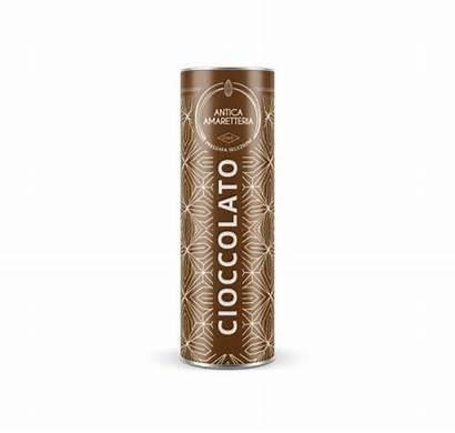 Amaretti Chocolate Tubo Metallo Cioccolato