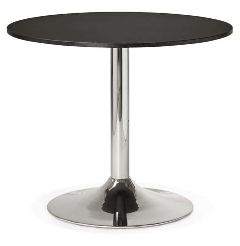 table ronde de bureau table de bureau ronde saopolo 90 cm table à diner