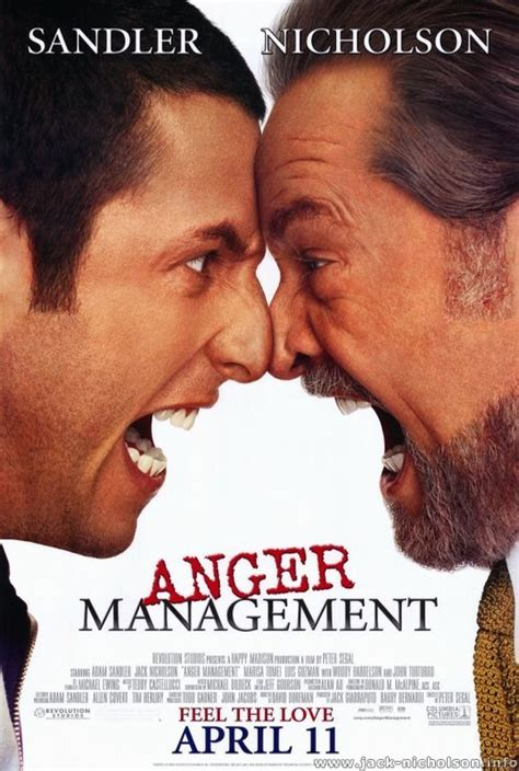 jack nicholson  movies anger management