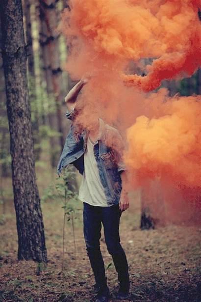 Smoke Bomb Hipster Humo Uwielbiam Kolorowy Colores