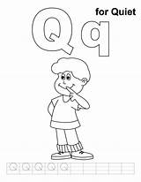 Quiet Coloring Letter Mark Preschool Practice Worksheets Template Cricket Very Handwriting Printable Umbrella Kindergarten Alphabet Az Popular Recommended Albums Albuns sketch template