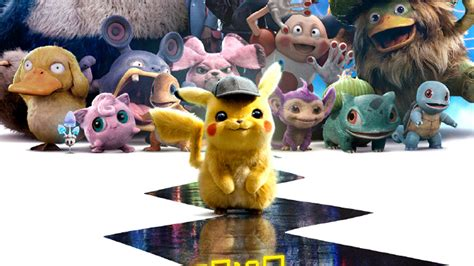 detective pikachu poster  trailer released