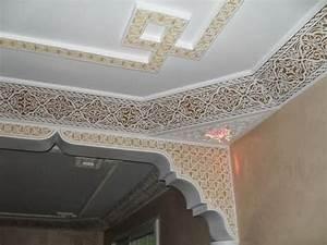 Corniche Plafond Platre : faux plafond nouveau mod le en pl tre decoration plafond ~ Edinachiropracticcenter.com Idées de Décoration