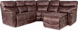 la z boy james four piece reclining sectional sofa with With 4 piece recliner sectional sofa