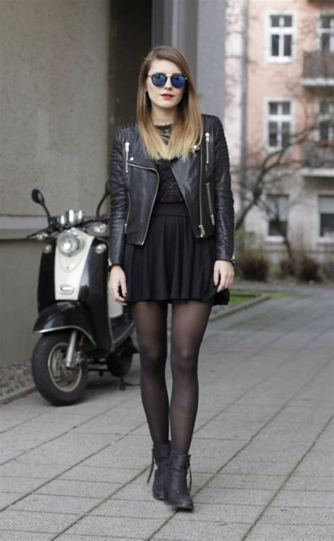 28 Stylish All Black Girls Outfits For Fall Styleoholic