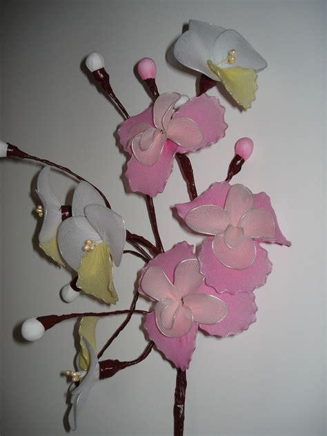 fiori di calze fiori con calze di bricolando flowers