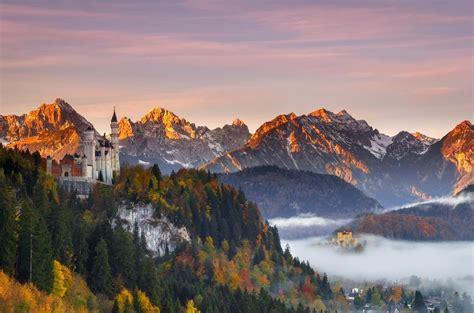Autumn Neuschwanstein Bing Wallpaper Download