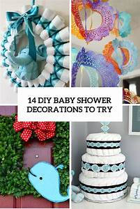 14 Cutest DIY Baby Shower Decorations To Try - Shelterness