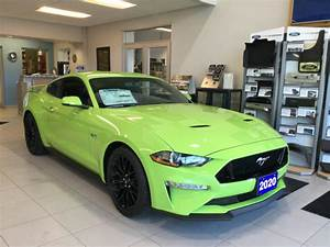 Ford Mustang Gt Grabber Green - Supercars Gallery