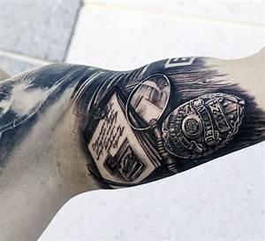 50 Police Tattoos For Men | Tattoos For Men | Pinterest ...