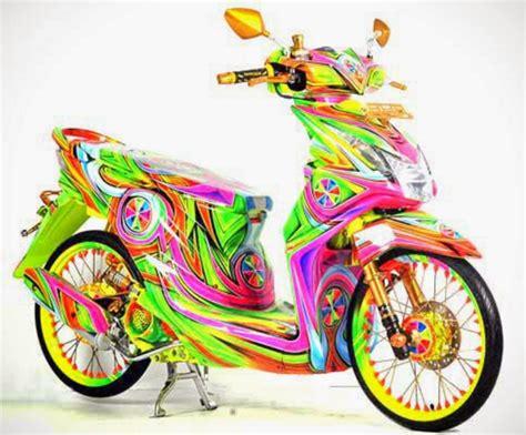 Modif Honda Beat Karbu by Modifikasi Motor Beat Karbu Onvacations Image