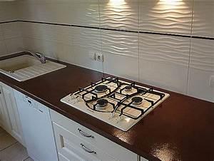 Recouvrir Plan De Travail Cuisine Adhesif : recouvrir carrelage cuisine plan de travail frais ~ Farleysfitness.com Idées de Décoration