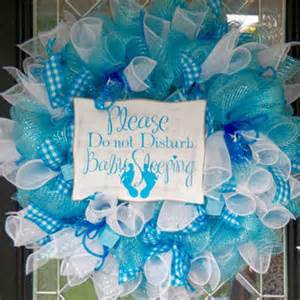 Tiffany Blue Living Room Decor by It S A Boy Welcoming Wreath Baby From Occasionsboutique