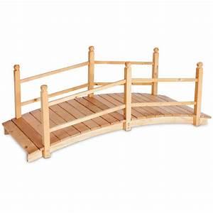 Pont En Bois Pour Jardin : pont de jardin en bois ~ Nature-et-papiers.com Idées de Décoration