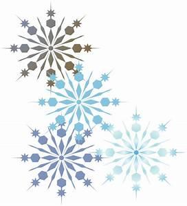 Snowflakes 2 Clip Art at Clker.com - vector clip art ...