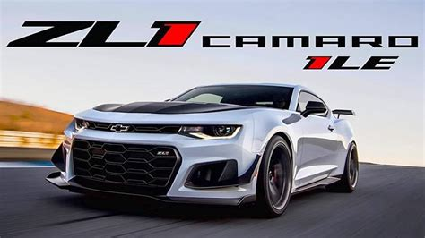 New 2018 Chevrolet Camaro Zl1 1le Is The Most Track