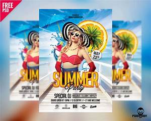 free online flyer creator templates download summer party flyer free psd psddaddy com
