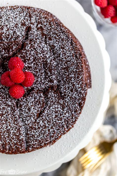 flourless chocolate cake fox  briar
