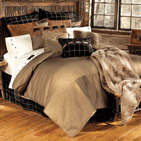 Rustic Bedding Sets, Lodge & Log Cabin Bedding