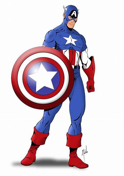 Captain America Cartoon Drawing Clipartmag