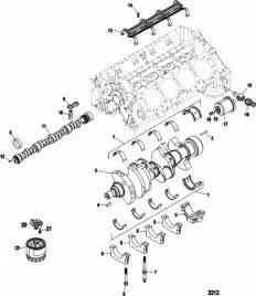 Mercruiser 350 Alpha  4 Barrel  Crate Engine Cylinder