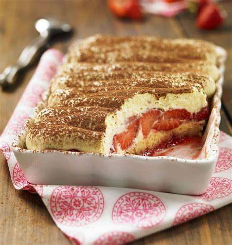the 25 best ideas about tiramisu aux fraises on
