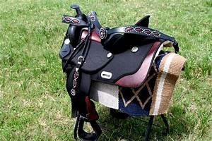 "16"" Western Cordura Trail Barrel Pleasure Horse SADDLE ..."