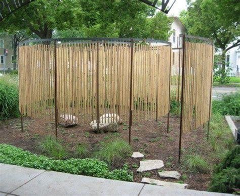 bambou deco  idees pour  decor jardin avec du bambou