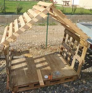 Plan De Cabane En Bois : fabrication d 39 une cabane avec des palettes ~ Melissatoandfro.com Idées de Décoration