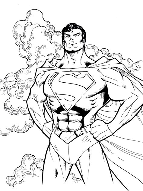 superman cool coloring pages superman coloring