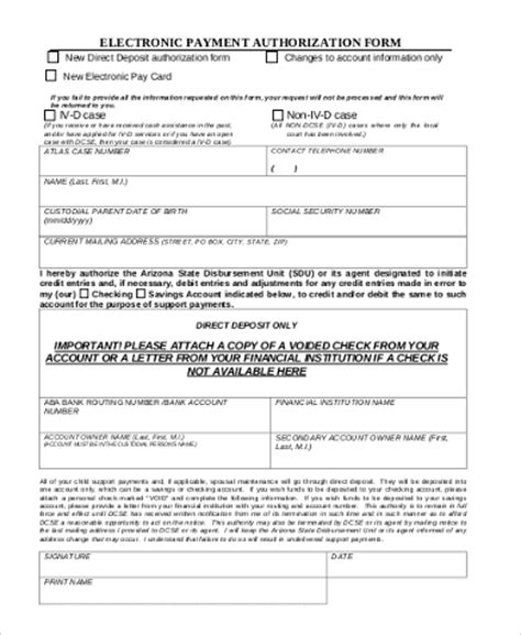 sle payment authorization forms 9 free documents in
