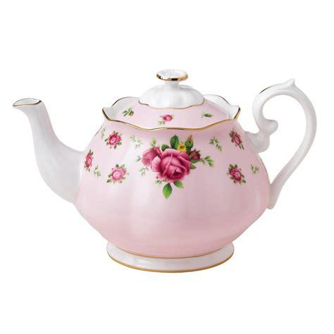 New Country Roses Pink Vintage Teapot Royal Albert Us