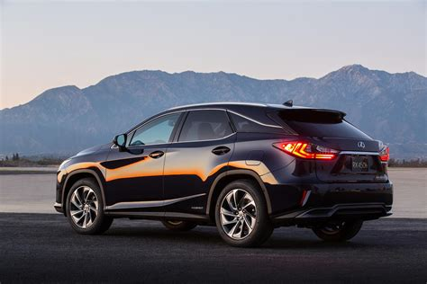 lexus rx 2016 all new 2016 lexus rx crossover arrives with bold new